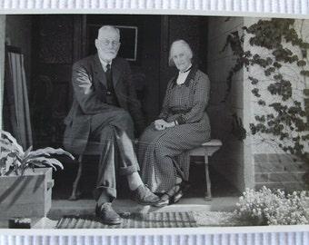 Vintage Photo - Richard & Minnie Beck