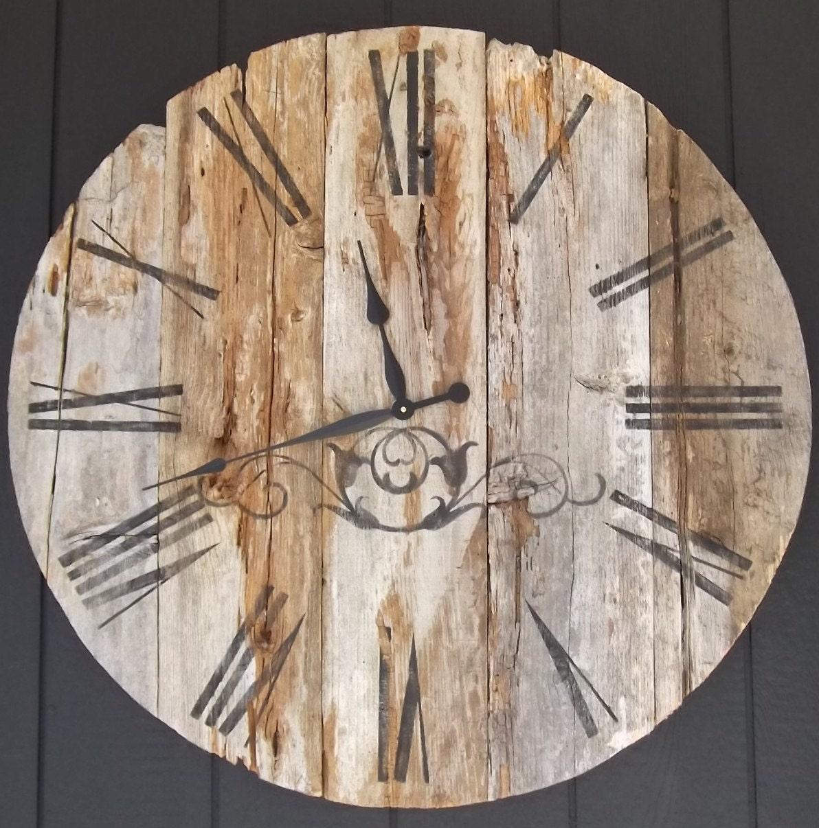 Оригинальные часы из дерева своими руками: Дом 96