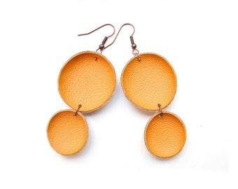 Tutorial Leather earrings PDF