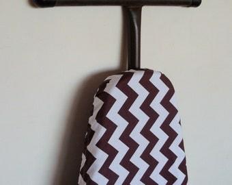 Ironing Board Cover brown chevron zig zag print