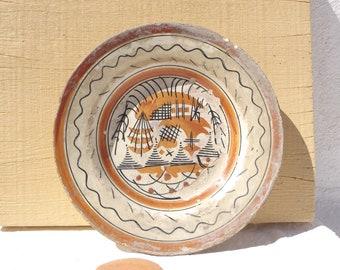 Vintage Sand Plate
