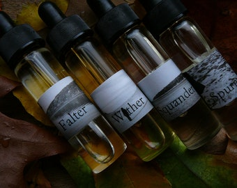 The whole four-fragrance set! DarlingClandestine Halloween collection