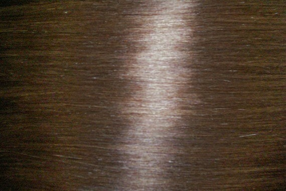 SALE 60.00  9 PIECE Clip on in Human Hair Extensions  17 inch  NO.6 Ash Brown.