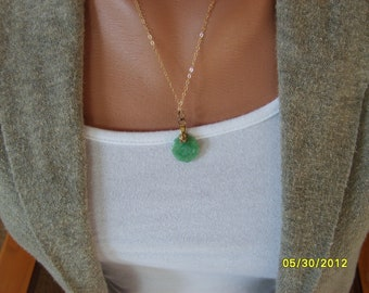 Chinese Jade Pendant. Yin and Yang, Good Luck Jade Pendant, Jade Necklace Yin and Yang, Chinese Jewelry, Fashion Jewelry Oriental