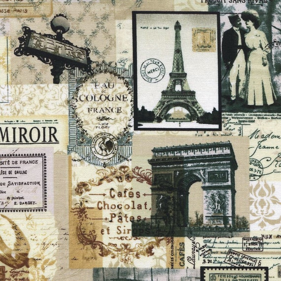 antique paris noir news timeless treasures 1 by bywaterfabric. Black Bedroom Furniture Sets. Home Design Ideas