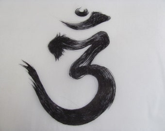 Sanskrit Calligraphy - limited edition print