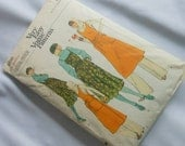 Vintage Vogue Sewing Pattern 1970s Style