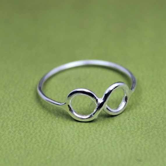 Infinity Ring, Lucky Eight Ring, 8 Ring, Eye Glass Ring, Infinity Band, Double O Ring, Spectacles Ring, Sterling Silver Ring, Eight Ring
