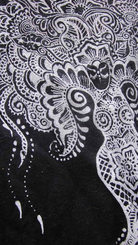 Goddess Tree Original Art Screenprint Black Medium