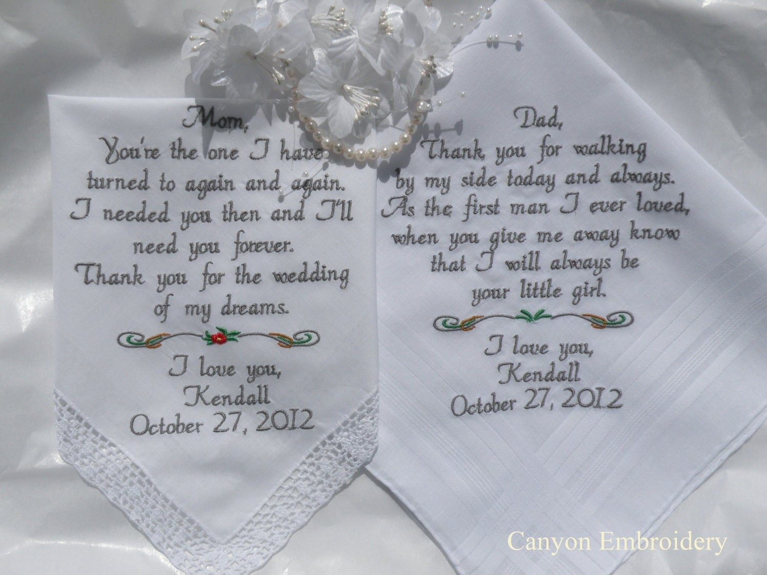 Bride Gift Father Of The Sayings: Handkerchiefs Quotes. QuotesGram