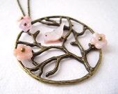 Cherry Blossom Necklace