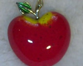 Vintage Red Apple Pin Beatrix