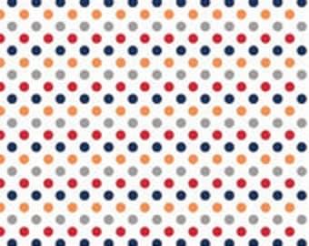 Small Dots Boy  - 1 yard -  by Riley Blake Designs.