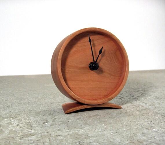 Cherry Wood Clock - Solid wood clock