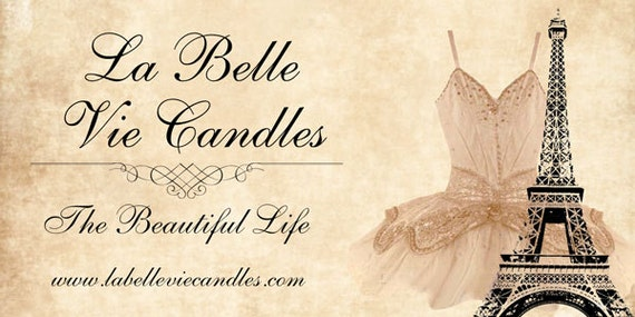 Reserved Listing La Belle Vie Candles