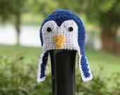 Crochet PATTERN - Penguin Hat - Instant download
