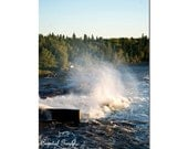 Nature Photography Decor Wall Art Waterscape 5x7 Man Cave Decor Print Unique Fathers Day Gift For Him