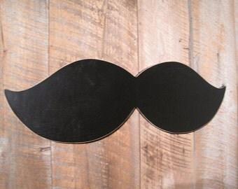 Large Chalkboard Moustache - Wall Art