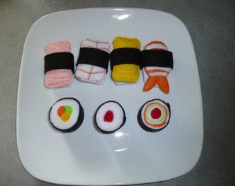 Sushi Felt Food Set