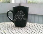 Inverted Caffeine Chemical Compound Mug