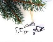 Walleye Fish Ornament