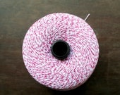 50 yards of Pink/White bakers twine