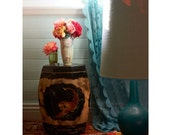 Home Decor, Gypsy, Turquoise, Roses, Retro, Vintage, Vibrant Color - Gypsy Caravan - willowvale