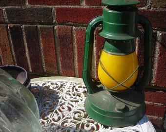 vintage lantern electric hanging fixture railroad dietz no 8air pilot