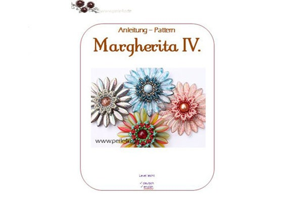 Beading pattern MAGHERITA iV. - PDF-Download