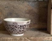 Small Rustic Porcelain Bowl