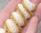 Any Color - Peyote Stitch Dreadlock Beads - 3D coil - For Large or Small Dreads or Braids