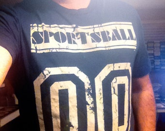 Sportsball TM tee by Shawn Wolfe for GROSS NATIONAL