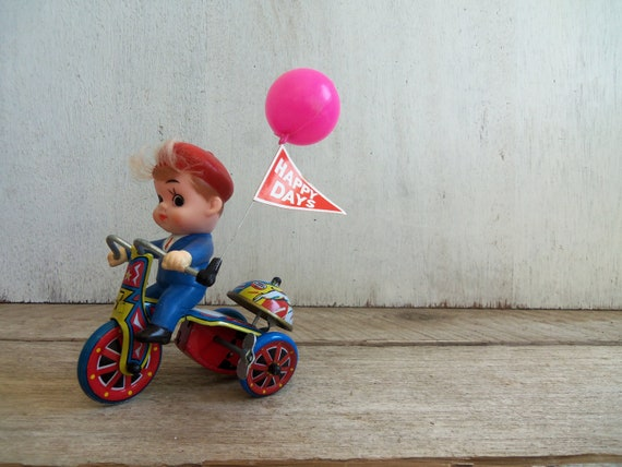 Antique Mechanical Boy's Tricycle