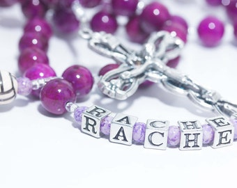 Personalized Volleyball or other Sports Rosary