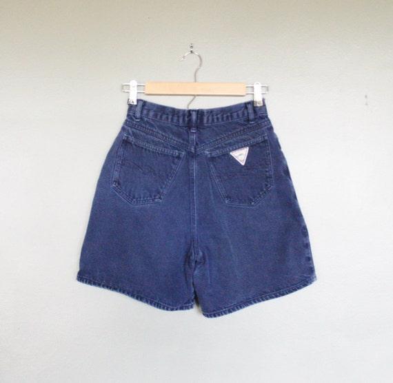 15 Dollar Sale Vintage HIGH WAIST Palmettos Denim Shorts - Button Fly Women Small