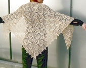 SCARF ,sHAWL , lACE,  TRIANGLE scarf,  BURGUND , stole, collar, shrug,  eSTONIAN model kniting openwork handmade,