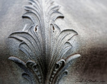 Granite Scroll : gothic photo art nouveau sculpture statue tomb cemetery photography home decor 8x10 11x14 16x20 20x24 24x30