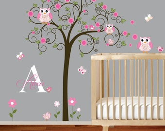 Vinyl Wall Decal  Nursery Wall Decal, Children Wall Decal, Baby Girl Wall Decal, Nursery Wall Art,Wall Decals Nursery