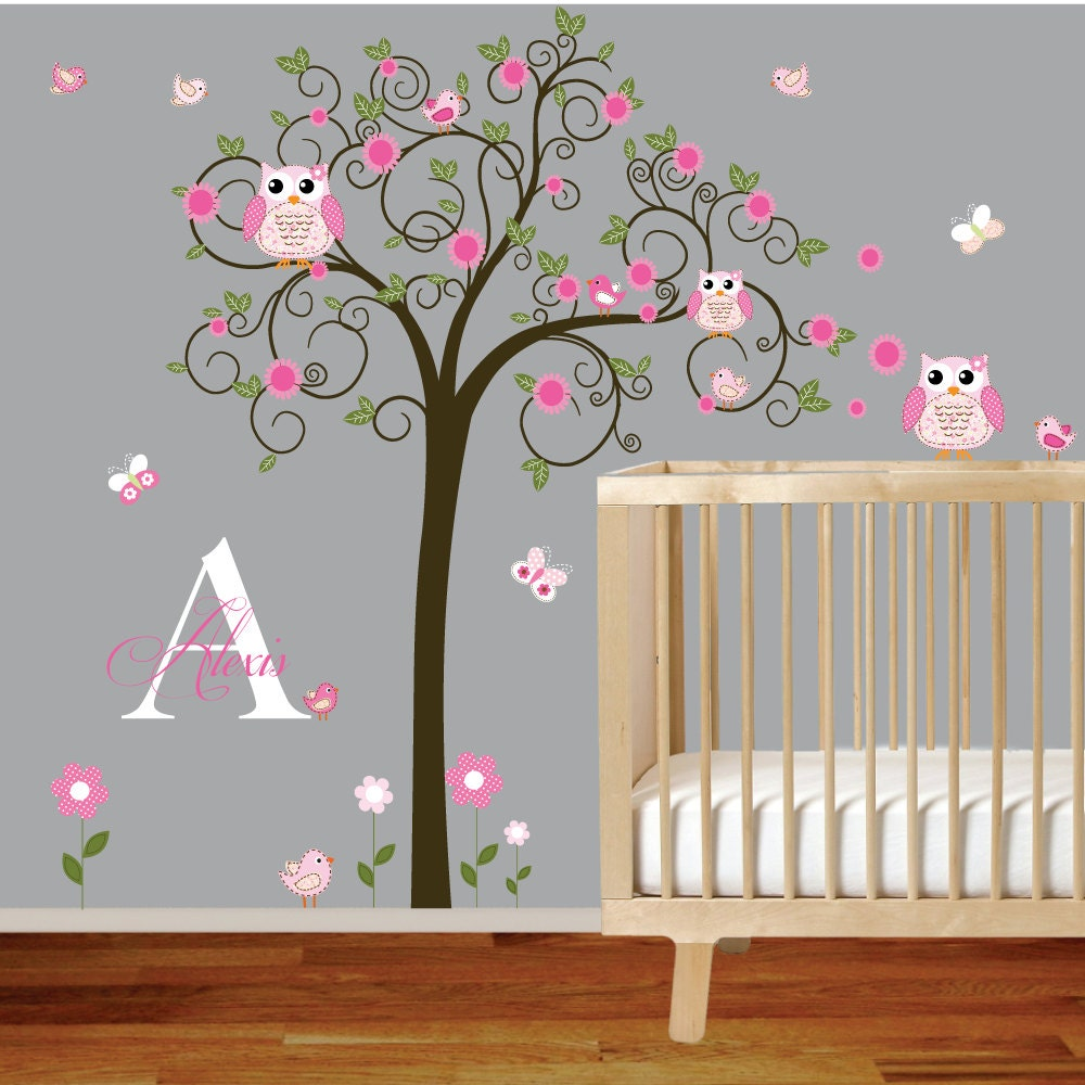 Vinyl Wall Decal Nursery Wall Decal Children Wall Decal - Custom vinyl decals for wood   removal options