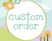 Custom Order for Pacita.  1 Yard of Elvendale and 1 Yard of Wonderland Blue