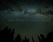 Outdoor Photography - Milky Way - Fine Art - Night Photography - Photo Art - 16 X 24 prints