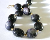 SALE Jewelry, Bracelet, Luxe Bracelet, Star Rubies, Spectacular Precious Gemstone Bracelet, Gift for HER 22kt Gold Filled