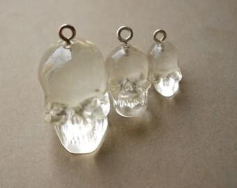 10Pcs Crystal Skulls