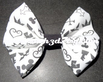 Kingdom Hearts icons hair bow or bow tie
