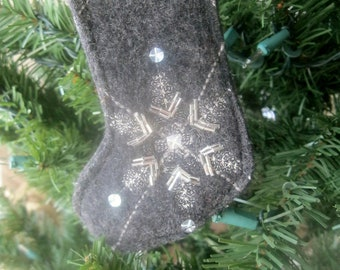 Felted Stocking Ornaments