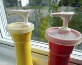 Tupperware Mustard & Ketchup