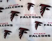 Atlanta Falcons Football Xs, S, M, Lg Tie On  Dog Bandana