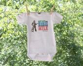 John Wayne Drink Your Milk Infant Bodysuit - TR