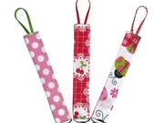 Set of Three, Pacifier Clips, Design Your Own, Custom Made