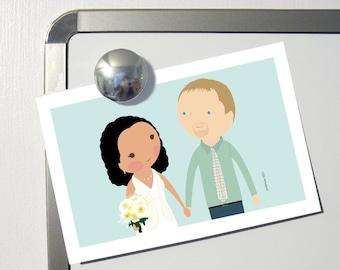 Wedding Cartoon Portrait custom